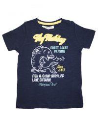 T-shirt - EBound FlyFishing Navy