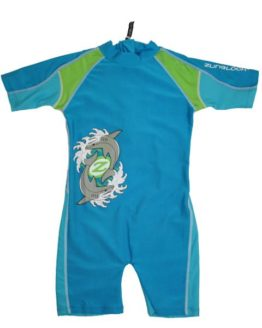 Sunsuit - Zunblock Sharkbite Turkis