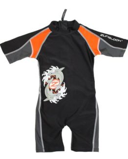 Sunsuit - Zunblock Sharkbite Black