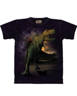 T-shirt - Mountain T-Rex Volcano