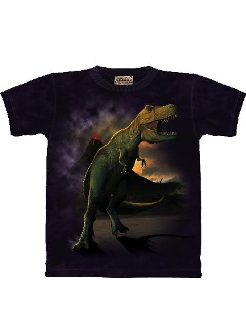 T-shirt - Mountain T-Rex Volcano