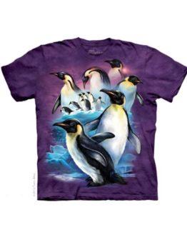 T-shirt - Mountain Emperor Penguins