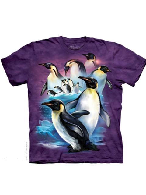 T-shirt - Mountain Emperor Penguins