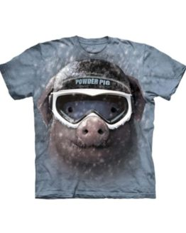 T-shirt - Mountain Powder Pig
