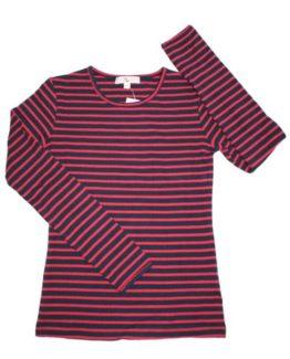 T-shirt - Italy Kids NavyRød