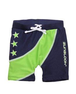 Badeshorts - Zunblock Stars Lime