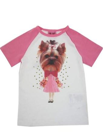 T-shirt - Me Too Dog Pink