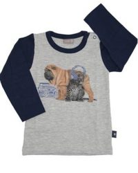 T-shirt - Hust Dog Leopard