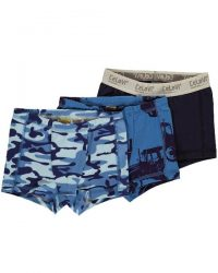 Boxershorts - Celavi 3-pak Blå