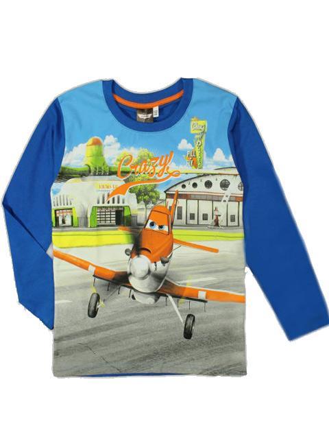 T-shirt - Disney Planes Blå