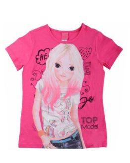 T-shirt - TopModel Nadja Pink