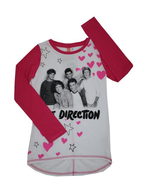 T-shirt - One Direction Love Pink
