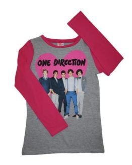T-shirt - One Direction Heart Pink