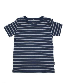 T-shirt - Name It Navy Str. SS