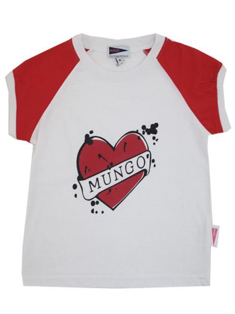 T-shirt - Mungo Rød