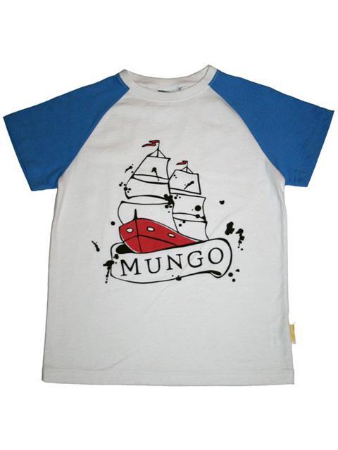 T-shirt - Mungo Blå