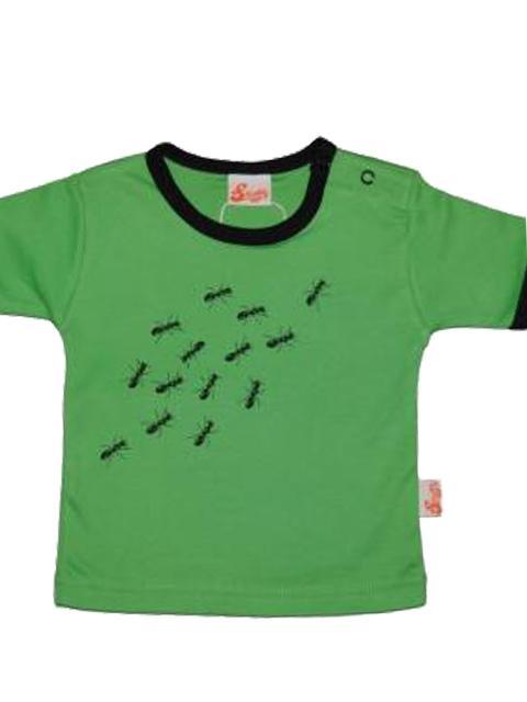 T-shirt - Snoffs Design Myrer Grøn