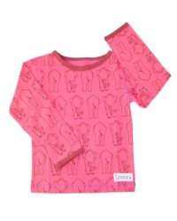 T-shirt - Snoozy Pink Elephant LS