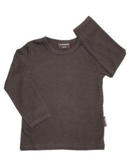 T-shirt - Maxomorra Basis Brun