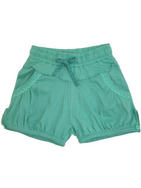 Shorts - Fransa Kids Ocean Green