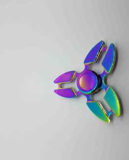 Finger spinner metal