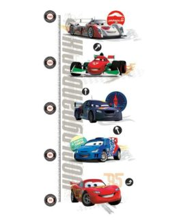 Wallstickers - Højdemåler - Cars 2